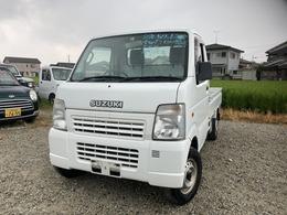 スズキ キャリイ 660 KCエアコン・パワステ 3方開 4WD 5速マニュアル 4WD エアコン パワステ