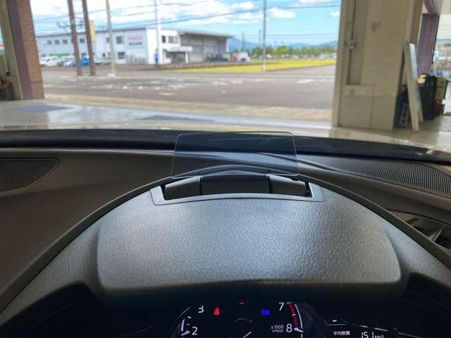 アクティブ・ドライビング・ ディスプレイ(カラー)☆エンジンONでメーターフードの前方に立ち上がり「走行情報」を表示。フルカラー化、高輝度・高精細・高コントラスト化、読み取りやすさを向上させました。