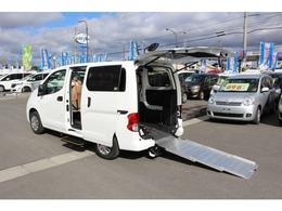 日産 NV200バネットバン 1.6 チェアキャブ 車いす2名仕様 リヤクーラー プライバシーガラス付き
