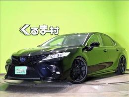 トヨタ カムリ 2.5 WS 純正9型フルセグSDナビ ハーフレザー