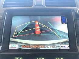 バックモニター搭載で車庫入れ安心。バック中の死角部分がモニターに映しだされるので安全性アップ。