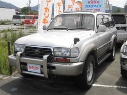トヨタ ランドクルーザー80 4.2 VXリミテッド Lパッケージ ディーゼルターボ 4WD 500台限定車 サンルーフ 本革 ETC