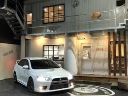 三菱 ランサーエボリューション 2.0 GSR X 4WD RAYS18インチ/HDD/RECARO/HKSマフラー