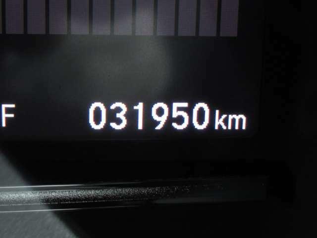 インフォメーションディスプレーで燃費や走行距離の確認ができます。