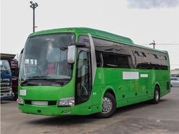 三菱ふそう エアロエース 43人乗り大型バス ハイデッカー 420馬力 観光バス カスタム内装 貫通トランク3本