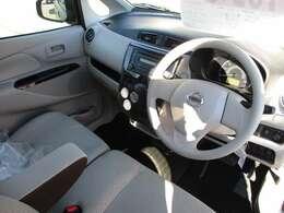 視界が広がる、開放的な運転席