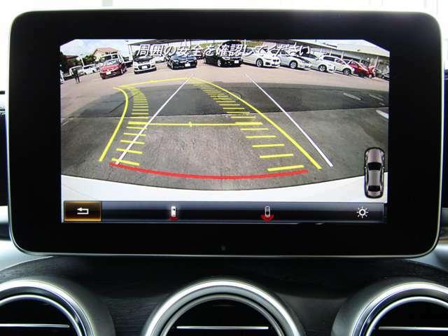 バックカメラ♪コーナーセンサーも装備されているのでバック駐車も安心です♪