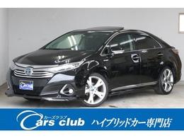 トヨタ SAI 2.4 G Aパッケージ サンルーフ 黒革 モデリスタエアロ 1年保付