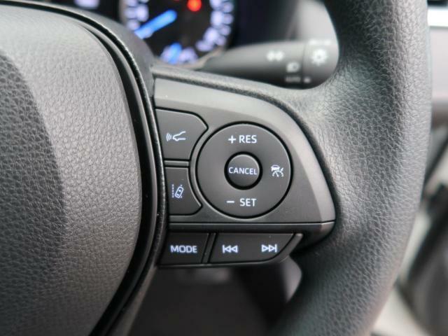 先行車を検知すると一定の車間距離を保って追従走行します。ペダル操作のわずらわしさを軽減し、より快適で安全なロングドライブを提供します。