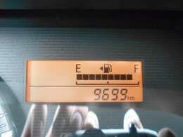 現在の走行距離は9,699キロ!走行距離も少ないオススメの1台です!