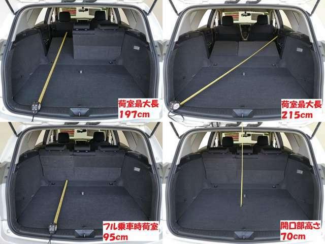 コンディション良い荷室 最近少ない フルサイズ ステーションワゴン 貴方はどう使いますか・・・