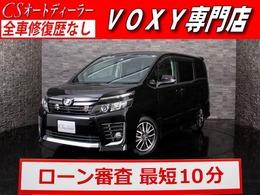 トヨタ ヴォクシー 2.0 ZS 後席モニター/両側電動ドア/デカナビ