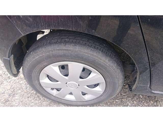 タイヤは現状となります