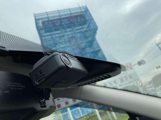 ドライブレコーダー付きです。車が危険運転をしていたのかを、客観的に判断できる材料になります♪