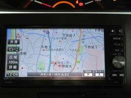 ダイハツ純正 メモリーナビ 地図データ2014年 フルセグTV CD・DVD・SD再生 Bluetootオーディオ ミュージックサーバーSD