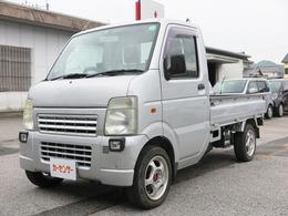 スズキ キャリイ 660 KCエアコン・パワステ 3方開 荷台ゴムマット/CDデッキ