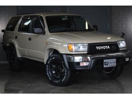 トヨタ ハイラックスサーフ 2.7 SSR-X Vセレクション 4WD 本州仕入/ベージュペイント/新品ライト