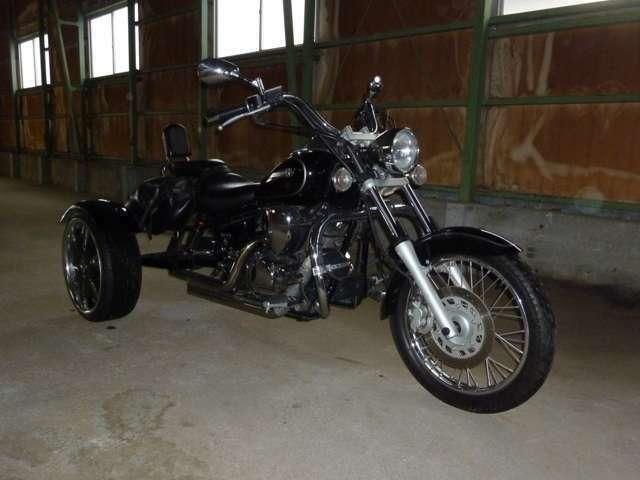 他にも在庫あります!ドラッグスター250トライク 2011年モデル ゴードン社製!マフラーは美爆音です!79.9万円です!