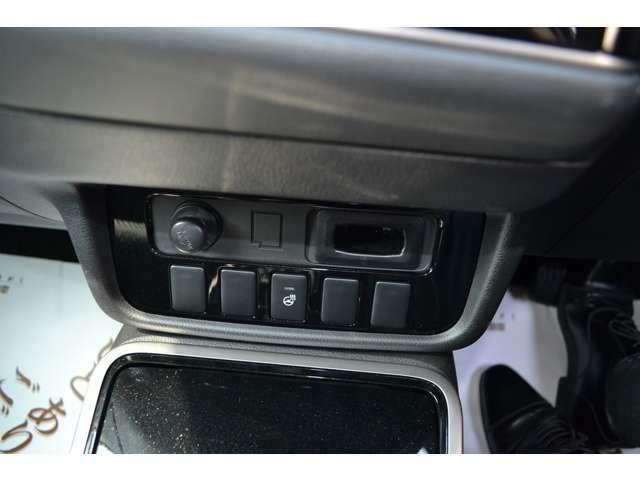 ハンドルヒーターも付いており、寒い朝も快適に運転。