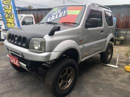 スズキ ジムニーワイド 1.3 JZ 4WD リフトアップ 社外アルミ 車検2年