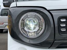 LEDヘッドランプ装備☆明るいライトで視界良好!夜のドライブも楽しめますね☆オートライトシステム&ハイビームアシスト装備で便利です☆