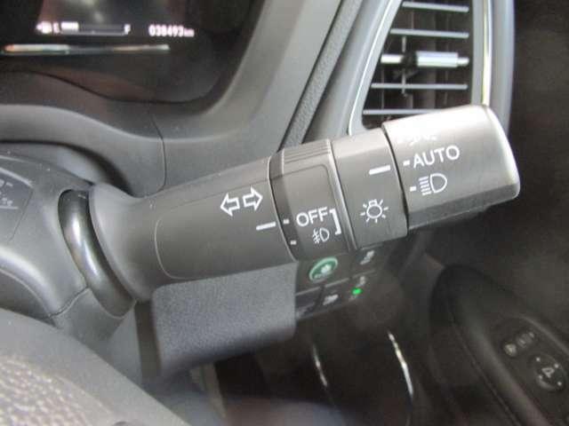 オートライト機能付きLEDヘッドライト