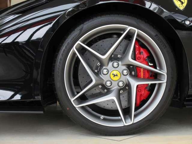 オプション:レッドブレーキキャリパー カーボセラッミクブレーキシステム