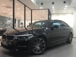 BMW 5シリーズ 530i Mスポーツ ワンオナ19AW黒革イノベーションP地デジ