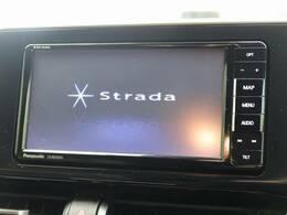 パナソニックSDナビ付き!地デジTV、DVD再生、Bluetooth機能も有り。ドライブには欠かせませんね☆