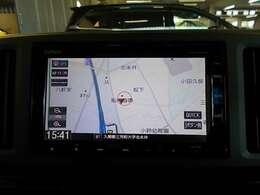【インターナビリンクアップフリー対応ナビ(VXM-195VFi)】機能盛り沢山のホンダ純正ナビに通信機能が付いてより便利に!ホンダが配信する交通情報や天気情報をリアルタイムに表示します。