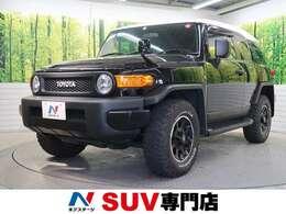 トヨタ FJクルーザー 4.0 ブラックカラーパッケージ 4WD 禁煙車 1オーナー 純正ナビ バックカメラ