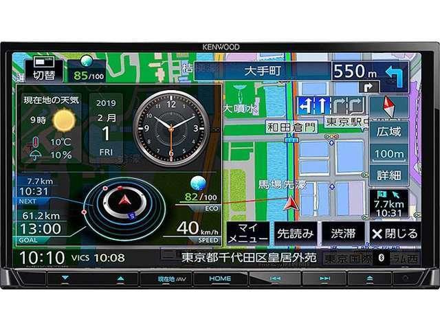 Bプラン画像:ケンウッドS706ナビはDVD再生CD録音USB&SDカード対応でハンズフリー電話もOKです走行中TV映りますステリモUSB接続