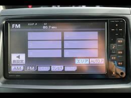 純正SDナビを装備。音楽の録音も可能です。