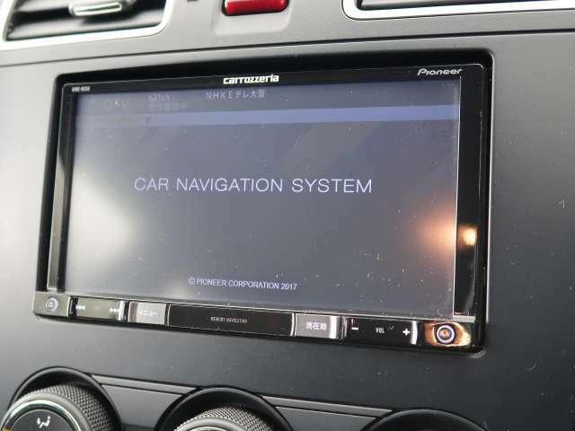 カロッツェリアSDナビ装備しております!テレビの視聴も可能です!