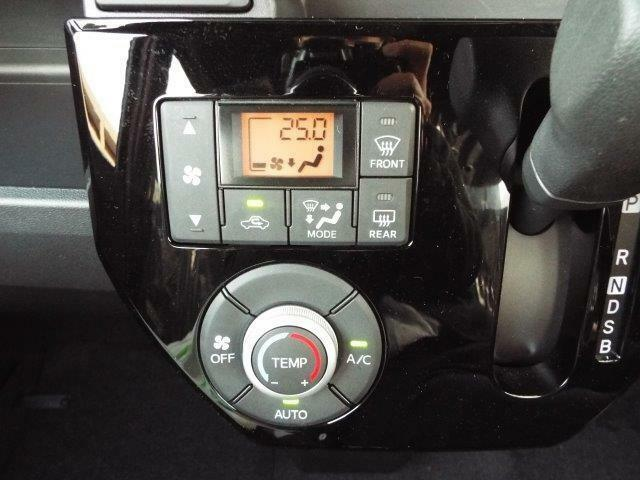 温度を設定するだけで自動で風量を調節してくれるオートエアコン付き!