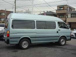 ◆お待たせいたしました! ハイエースバン ウェルキャブ車 DX-GLパッケージ 車いす仕様 9人乗り 入庫致しました!