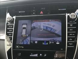 駐車時も楽々【パノラミックビューモニター】装備で初心者の方でも安心。
