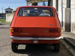 FIAT127GIANNINI NP当時のフルオプション装備で各所にGIANNINIのロゴがちりばめられている本国でも見ることが少ない車両です。現存するGIANNINI社発行の製造認定書類付きです。