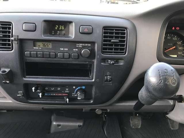 5速AMFMラジオ