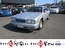 日産 セドリック 3.0 ブロアム AV・II CD パワーシート 車検2年含