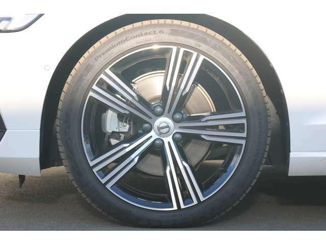 19インチアルミホイール 5マルチスポーク ダイヤモンドカット/ブラック(8.0JX19)タイヤ空気圧モニタリングシステム