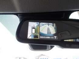 全周囲をカメラで確認できるアラウンドビューモニター付きです。これがあれば狭い場所でも難なく移動や車庫入れができます。