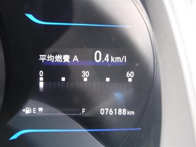 撮影時の走行距離は約7.6万kmです。安心のロングラン保証付きです。