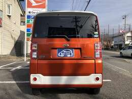 27年式 ウェイク L-SAグレードになります。色はオレンジと白のツートンです♪