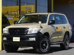 トヨタ ランドクルーザー200 4.7 AX 4WD パールホワイト メーカーナビ