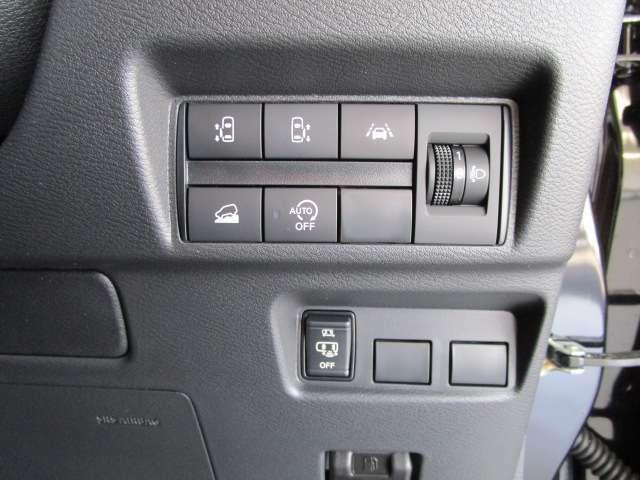 操作スイッチです。