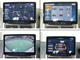 フローティングBIGXナビ。高精細!11型大画面。マルチアラウンドモニター対応。