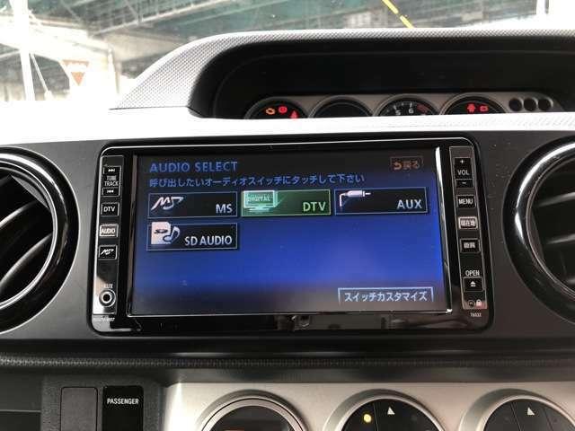 HDDナビ付でDVD再生も可能ですので長距離ドライブでも飽きないですね☆