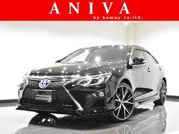 トヨタ カムリハイブリッド 2.5 レザーパッケージ 黒革 20AW エアロ LEDヘッドテール 1オナ