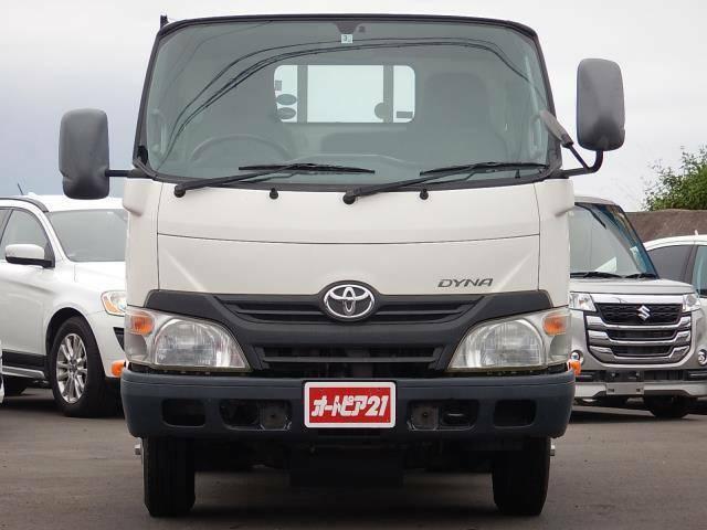 走行距離約97,860km!新普通免許対応の車両総重量5t未満♪ダイナトラック 4.0DT 2t平ボディ 木製ジャストローです♪